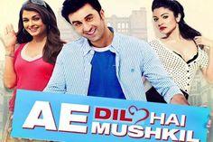 Ae Dil Hai Mushkil 720P Online Film 2016