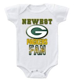 43978d4a3f6 NEW Football Baby Bodysuits Creeper NFL Green Bay Packers  2