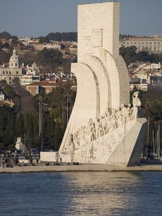 size: Photographic Print: River Tagus and Monument to the Discoveries, Belem, Lisbon, Portugal, Europe by Rolf Richardson : Artists Sintra Portugal, Spain And Portugal, Algarve, Portugal Travel, Spain Travel, Visit Portugal, Places To Travel, Places To See, Places Around The World