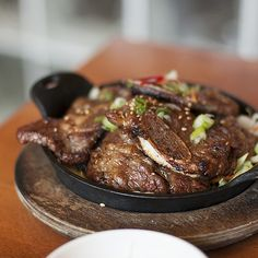 My favorite Korean Food in Oakland: Bowl'd Korean Rice, Korean Dishes, Korean Food, Korean Beef, Korean Barbeque, Rice Bar, Bbq Short Ribs, Snack Recipes, Cooking Recipes