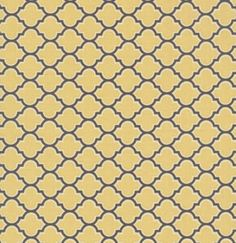 LODGE LATTICE in Vintage Yellow by Joel Dewberry AVIARY 2 Cotton Quilt Fabric