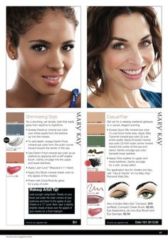 Mary Kay Eye Bundles!  Go to the website first and do your virtual makeover.  It will tell you with bundle to buy!