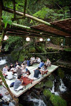 Kyoto, Japan - Visit Travel Den for amazing city breaks Kyoto Japan, Okinawa Japan, Tokyo Japan Travel, Japan Trip, Cool Places To Visit, Places To Travel, Kyushu, Over The River, Hiroshima