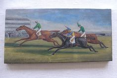 The Emperor's Cup, C19th Racing Scene, Oil on Canvas - Foxhouse Fine Art | Selected Works of Art