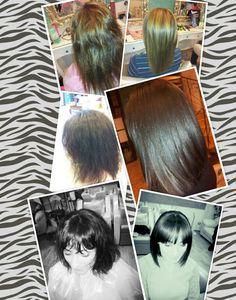 Prima e dopo il trattamento KERASILK I♡GOLDWELL