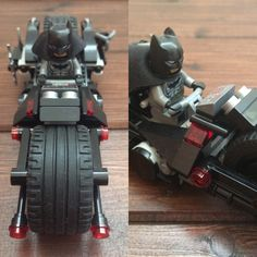 Lego batbike front and side