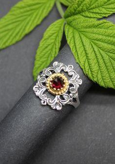 Jewelry, Traditional, Rhinestones, Red