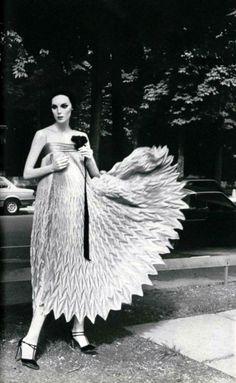 Fashion by Pierre Cardin, 1970s.