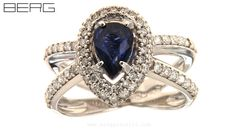 Heart Ring, Sapphire, Jewels, Rings, Jewelery, Ring, Gemstones, Jewelry Rings, Jewelry