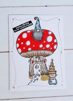 Wichtel-Weihnacht » Stampin UP bestellen ✓ Hobby ✓ kreativ ✓ Basteln mit Papier und Farbe - mutterskind.de