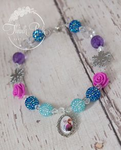Frozen-Inspired Snowflake Sisters Elsa and Anna Necklace