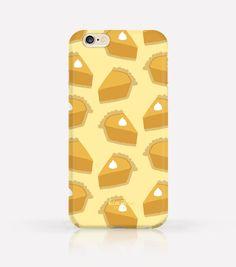 Cute Thanksgiving Pumpkin Pie iPhone Case