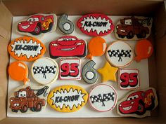 awesome Cars cookies.