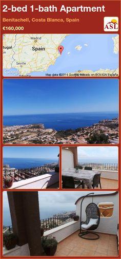 2-bed 1-bath Apartment in Benitachell, Costa Blanca, Spain ►€160,000 #PropertyForSaleInSpain