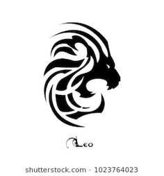 Leo zodiac sign/symbol made specifically in tattoo style perfect for shoulder or bicep tattoo Zodiac Signs Symbols, Zodiac Signs Leo Tattoo, Zodiac Art, Leo Lion Tattoos, Tribal Lion Tattoo, Bow Hunting Tattoos, Arm Tattoo, Tattoo Art, Leo Symbol