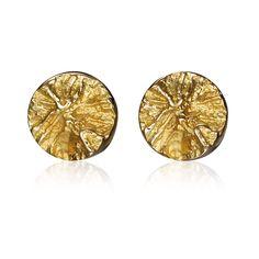 SWIRLS  Design Björn Weckström / Gold Earrings / Lapponia Jewelry / Handmade in Helsinki