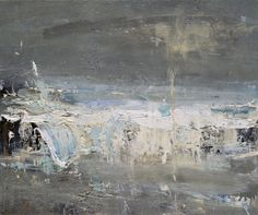 Hannah Woodman, 'Blue waves Evening Gwithian
