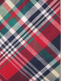 Just Madras fabric by the yard...