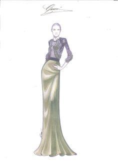 gucci fashion sketches - Buscar con Google