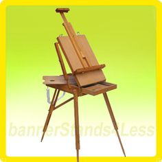 French Easel Wooden Sketch Box Portable Folding Art Artist Tripod Painters Easel