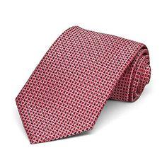 TieMart Boys Apple Green Henry Grain Pattern Necktie