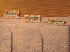 PAP – Etiquetas personalizadas de tecido