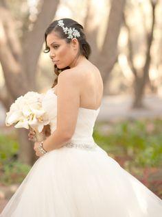 "Wedding Dress- Pronovias ""Barbate"" loved my wedding! LOVED... L. O.V.E.D <3 at Padua Hills Theater"