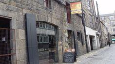 The Outhouse - a great backstreet bar in Edinburgh.