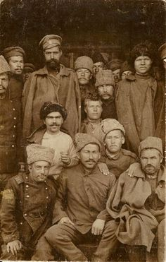 РУССКИЕ СОЛДАТЫ Ww1 Soldiers, Wwi, Cossack Hat, World War I, Troops, Ukraine, Russia, Army, Military