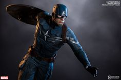Marvel Captain America Premium Format(TM) Figure by Sideshow   Sideshow Collectibles