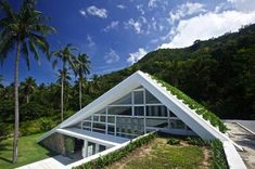 Striking Green-Roofed Aqualina Residence Bucks the Thatched Trend in Thailand | Inhabitat - Sustainable Design Innovation, Eco Architecture, Green Building
