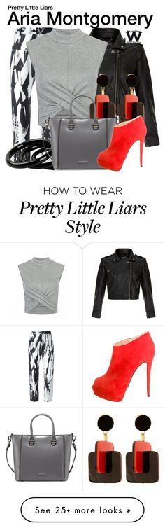 """Pretty Little Liars"" by wearwhatyouwatch on Polyvore featuring MuuBaa, Ann Demeulemeester, Marni, Furla, Charles Jourdan, Giuseppe Zanotti, television and wearwhatyouwatch"