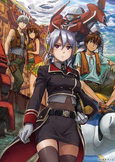 Poster A3 Hai to Gensou no Grimgar Haruhiro Manga Anime Cartel Decor Otaku 01