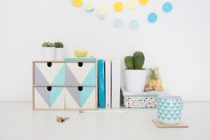 Try This IKEA Hack to Freshen Up Your Desk via Brit + Co.