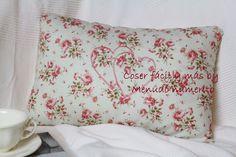 Cómo hacer un cojín vintage sin cremallera - Vintage cushion