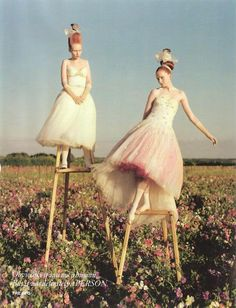 Tales Of the Unexpected - Vogue UK by Tim Walker, December 2008