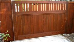 Craftsman Driveway Gate | Yelp