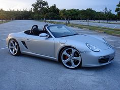 """Pics of Lowered 987 with 19"""" Carrera S wheels? - 987-1 Series (Boxster, Boxster S) - RennTech.org Community"""