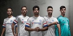 Chelsea have released their new away kit for the 2015-16 Barclays Premier League season...
