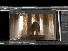 3Ds Max Tutorial, Rendering Volume Light