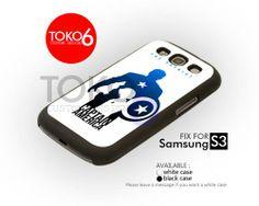 AJ 3881 Captain America The Patriot - Samsung Galaxy S III Case | toko6 - Accessories on ArtFire