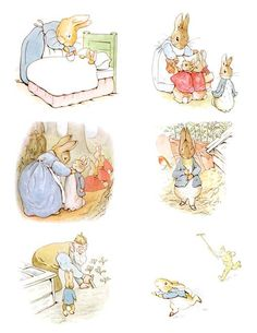 Complete Beatrix Potter's The Tale of PETER RABBIT by PineconeShop