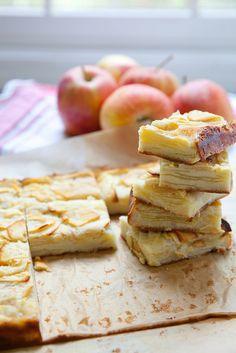 Apple Custard Bars–Annie's Eats