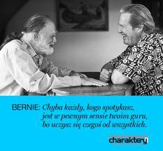 #lebowski #koleś #BernieGlassman http://sklep.charaktery.eu/jeff_bridges_bernie_glassman-koles-i-mistrz-zen.html