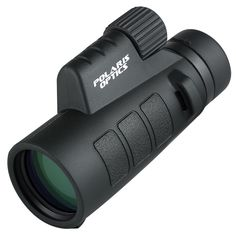 Polaris Optics Tracker 8X42 Compact Wide View Monocular with Advanced Optics and Single Hand Focus. Open Up Your World Up to Brilliant, Vivid Views. Waterproof. Fog Proof.