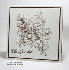 Power Poppy, Instant Garden Release, Olive and Oak, Digital Image, So Grateful, CherylQuilts, Designed by Cheryl Scrivens