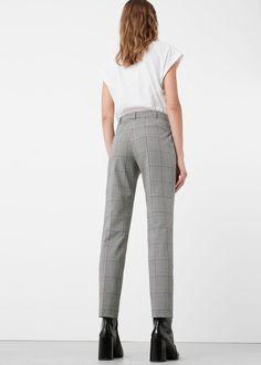 Pantalon de costume à carreaux | MANGO