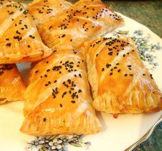 Recette Ramadan , 2016 , mini pastillas au thon fromage olives recettes a la pâte feuilletée   ...