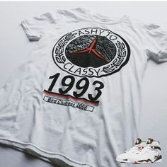 eaca23db9349c9 Air Jordan 8 Alternate tee by Bird Club Clothing. Purchase at  www.birdclubclothing.com. Follow our IG  birdclub06