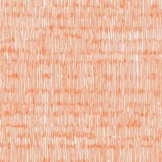 Carolyn Friedlander - Botanics - Line Scratch in Tangerine